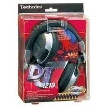 Fone Para Dj Technics Rp-dh1210 100 % Original Made In Japan