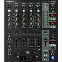 Mixer Djx 750 Behringer De 5 Canais Para Djs Digital - 110v