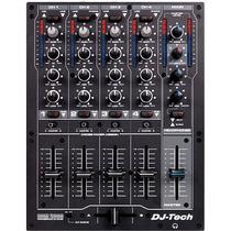 Dj-tech Ddm 2000 Usb Professional 4-ch Usb Dj Mixer Vinil