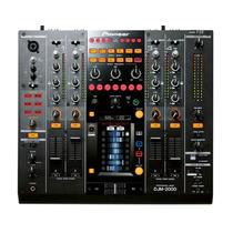 Mesa De Som Profissional Dj Mixer 4 Canal Misturador Djm2000
