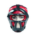 Protetor Cabeça/capacete C/ Grade Boxe Muay Thai Karatê Etc.