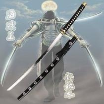 Espada Katana Zoro-one Piece Bainha Colorida+suporte Gratis