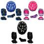 Kit Proteção Skate Rollers Bicicleta Patins - M 32-35 Br