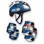 Kit Proteção Nerf P/ Skate Rollers Bicicleta - Original