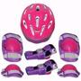 Kit Proteção Infantil Skate Longboard Joelheira Capacete G