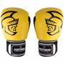 Luva Boxe / Muay Thai Pretorian Pro Trai Amarela
