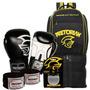 Kit Boxe Pretorian 10oz Preta + Mochila Maxi Top