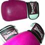 Luva Boxe Luva Muay Thai Rosa Feminina Thunder Fight Oferta