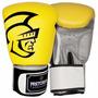 Luva De Boxe Pretorian Training(amarelo E Preto)16oz