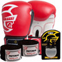 Kit Boxe Training Pretorian -14 Oz - Vermelho