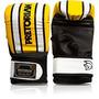 Luva Pretorian Boxe / Bate Saco - Amarelo Com Branco - M