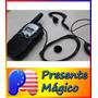 Radio Walkie Talkie Com Fone T388 T-388- Segurança Paintball