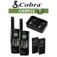 Rádio Comunicador Walk Talk Cobra Cxr925 Alcance 56 Km Novo