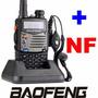 Radio Ht Dual Band Baofeng Uv-5ra Com Carregador Veicular