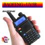 Rádio Dual Band Baofeng Uv-5r 136-174/400-520 - Facil Uso!