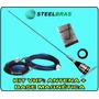 Antena Vhf Py 1/4 + Base Magnética Steelbras | Frete Grátis