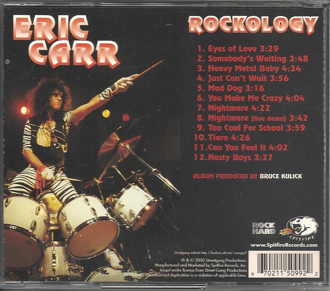 ERIC CARR Rockology Eric-carr-rockology-2000-hardex-exuscd-import-1839-MLB4769365464_082013-F