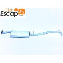 Silencioso Traseiro Escapamento S10 2.2 Cab. Simples 95/96