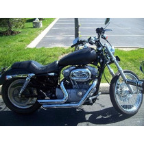 Escapamento Short Shots 21/2 Harley 883 Sportster Iron