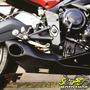 Escape Ponteira Firetong Willy Made Em Inox Daytona 675 Triu