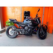 Escapamento Esportivo Xrace Para Yamaha Xj6 Completo 4x2x1