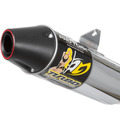 Escapamento Moto Turbo Pro Tork Ybr 125 - Factor + Brinde