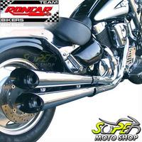 Escapamento Custom Scorpion V-rod Intruder 1500 Lc Suzuki