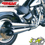 Escapamento Custom Scorpion V-rod Intruder 1500 Lc Suzuki