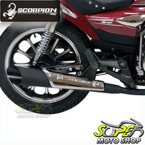 Escapamento Custom Scorpion V-rod Preto Mirage 150 Kainski