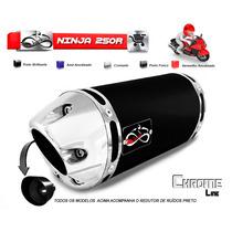 Escapamento Esportivo Infinity Para Moto Kawasaki Ninja 250