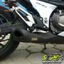 Escape Ponteira Firetong Willy Made Em Inox Z-800 - Kawasaki