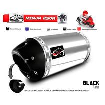 Escapamento Esportivo Infinity Para Moto Kawasaki Ninja 300