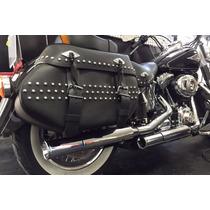 Ponteira Harley Softail Heritage 2,5 Reto Customer Cromada