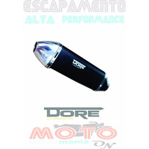 Escapamento Xre 300 Dore Honda Todas As Cores Alt Desempenho