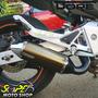 Escape Ponteira Alumínio Dore Hornet 600 Até 2007 - Bronze