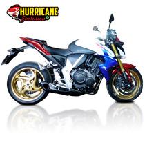 Escapamento Ponteira Esportiva Honda Cb 1000r Hurricane