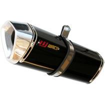 Ponteira/ Escape Wacs W1 P + Coletor Suzuki Bandit Gs 500 E