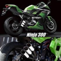 Escapamento Esportivo Ponteira Ninja 300, Ninja 250 Kawasaki