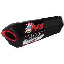 Ponteira/ Escape Pro Tork V3 Preto/ Black - Honda Xre 300