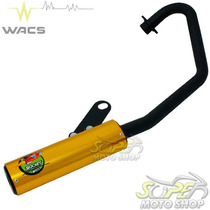 Escape Ponteira Wacs Rocket Cg 150 Fan Titan Esdi 09/13 Dour