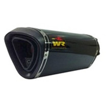 Ponteira Wr Extreme Cb 300 Cb300 Preto Brilho 30cm