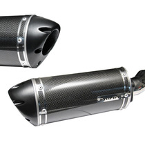Escapamento Ponteira Propipe Carbono Suzuki Gsx-r 1000 Srad