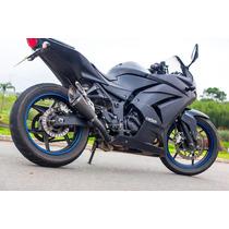 Ponteira Esportiva Scorpion Gp 720 Carbon P/ Ninja 250r