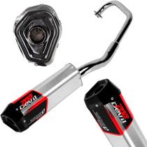 Escapamento Eportivo Devil P/ Honda Cbx 250 Twister Pro Tork