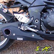 Escape Ponteira Firetong Willy Made Em Inox Z-750 - Kawasaki