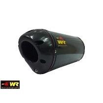 Escapamento Ponteira Wr Kawasaki Z750 Oval Fibra Carbono