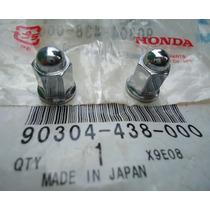 Porca Cega Do Escapamento Cg125 Bolinha Today Original Honda