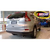 Ponteira Honda Crv(cr-v) Em Aço Inox 304 Modelo Sport !!!