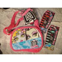 Monster High Bolsa Crossbody + 2 Lip Balm Monster High