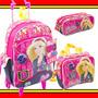 Kit Mochilete Lancheira Estojo Barbie 15z Sestini
